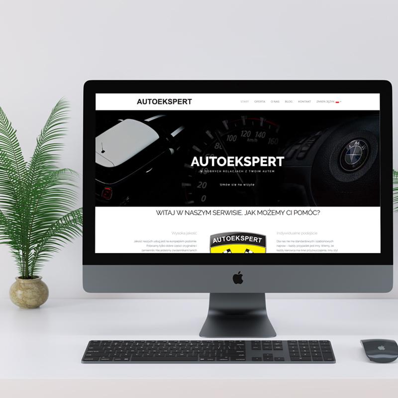 Strona dla serwisu Autoekspert