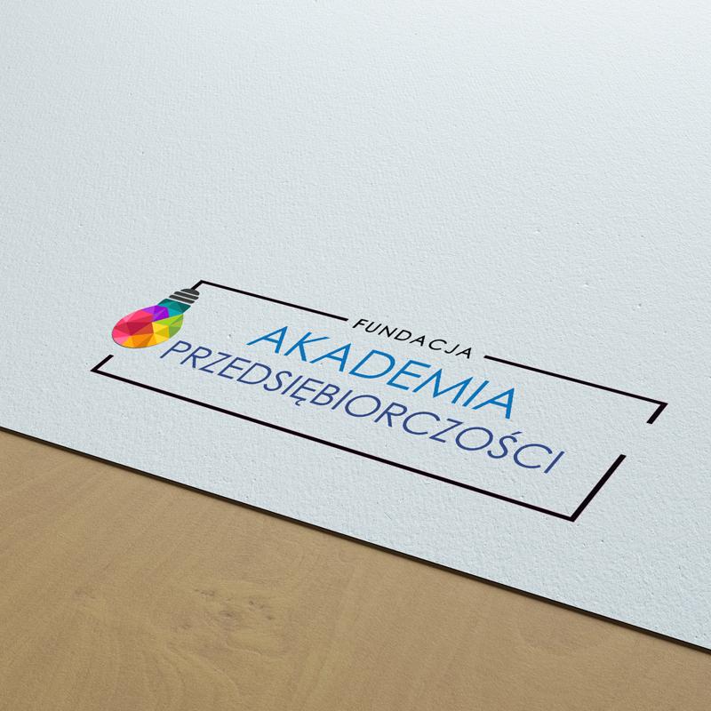 Logo projektu Akademia Przedsiebiorczości