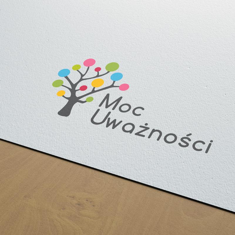 Logo programu Moc Uważności